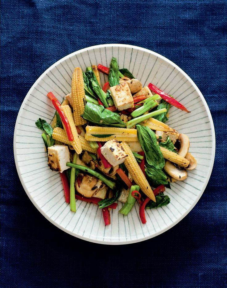 Vietnamese tofu and vegetable stir-fry by Ian Thorpe from Cook for Your Life | Cooked