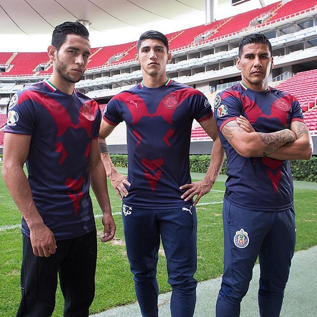 timeless design d44b7 831db 🐐 status. @pumafootball and @chivas drop another 🔥 kit ...
