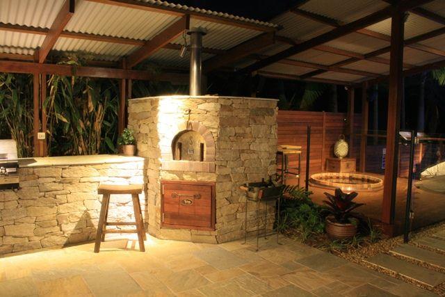 Outdoor Kitchen & Pizza Oven Brisbane
