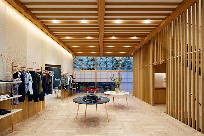 メゾン キツネ(MAISON KITSUNÉ)の新しい路面店が東京・代官山に、2016年2月20日(土)オープン。日本で3つ目の拠点となる代官山店は、日本の工芸美を集結させたことでも名高いホテルオーク...