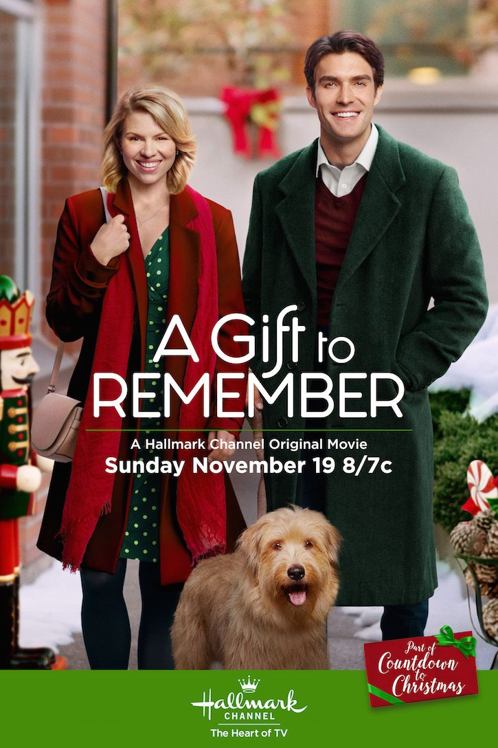 A Gift to Remember - Alie Liebert and Peter Porte find that truth is a better gift than fiction. Make a date on November 19 at 8/7c on Hallmark Channel. #CountdownToChristmas #HallmarkChannel #AGiftToRemember