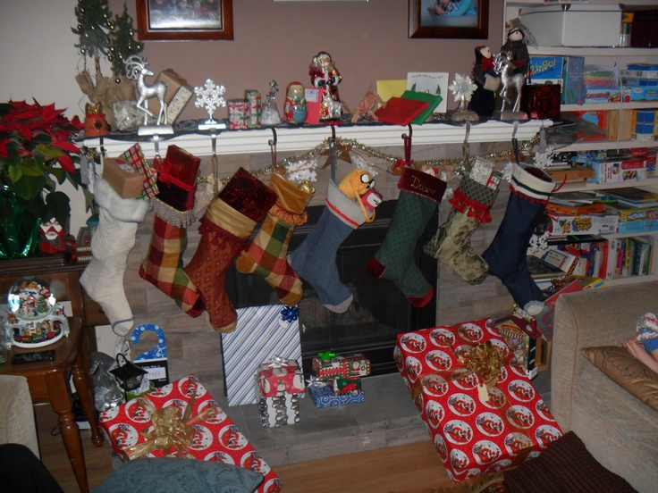 He spoke not a word, but went straight to his work, And filled all the stockings, then turned with a jerk.