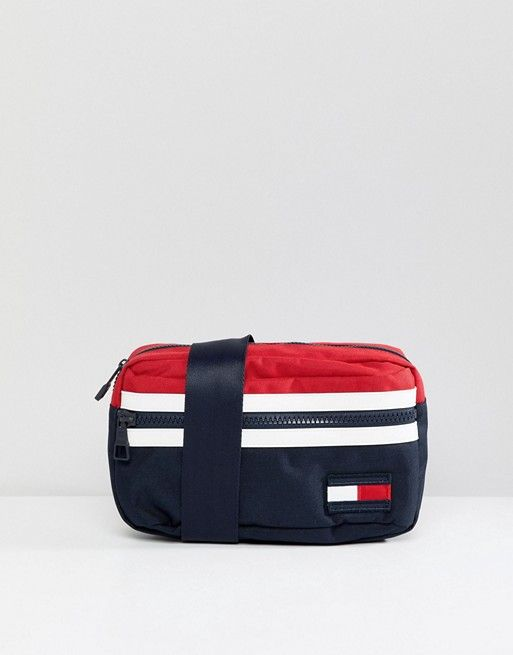21686c30 Tommy Hilfiger Icon Colors Crossbody Fanny Pack in Navy/Red/White in ...