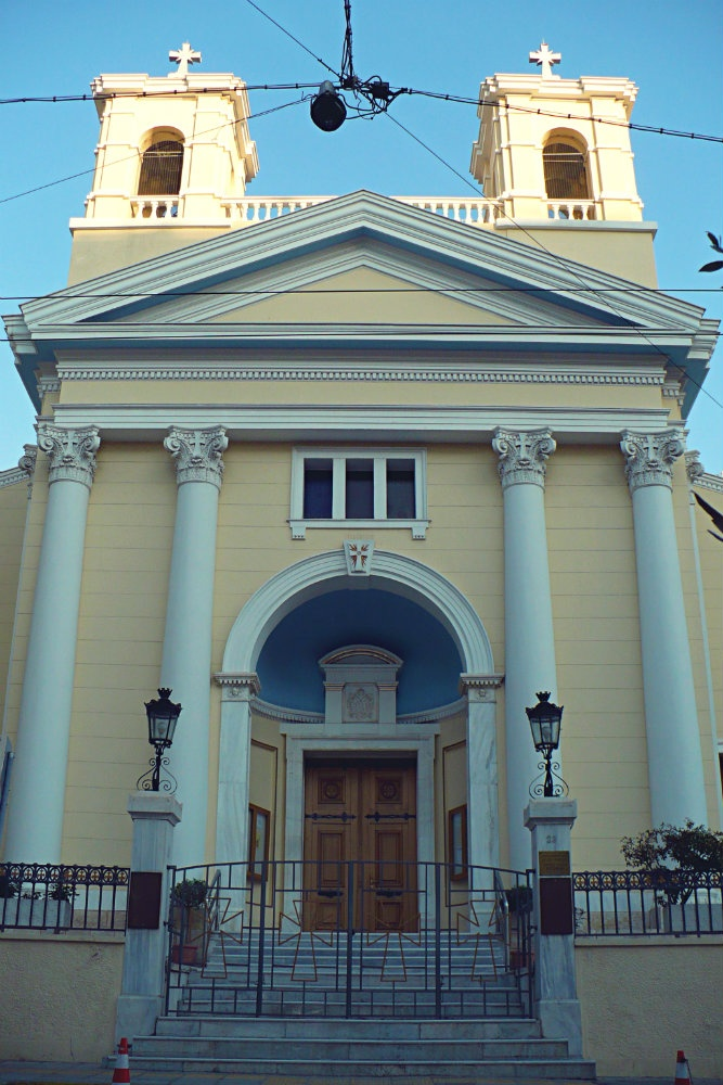 Catholic Church of Saint Paul is one of the most beautiful churches of Piraeus. Built in 1840