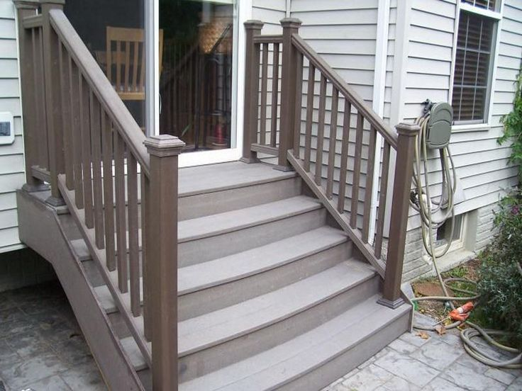Top 25 ideas about patio 39 s on pinterest deck stair for Outdoor composite decking