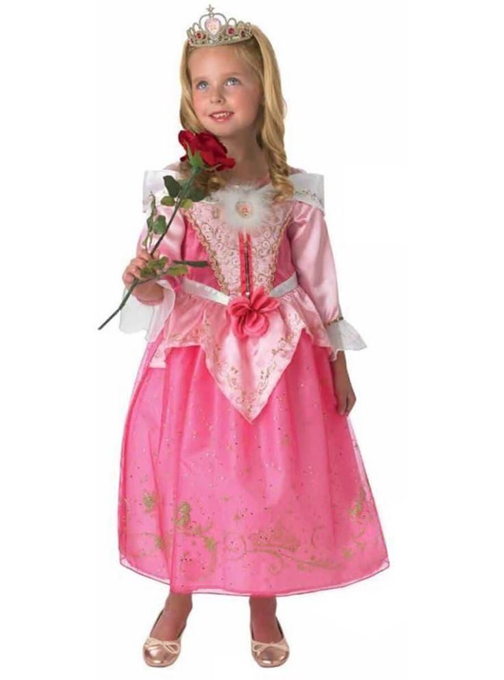 Disfraz de princesa Disney Aurora Aniversario para niña