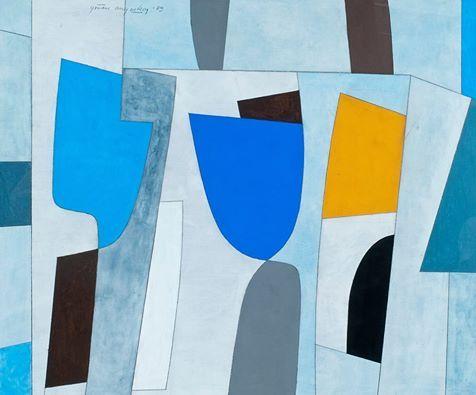 Göran Augustson (1936-2012) Komposition, 1989