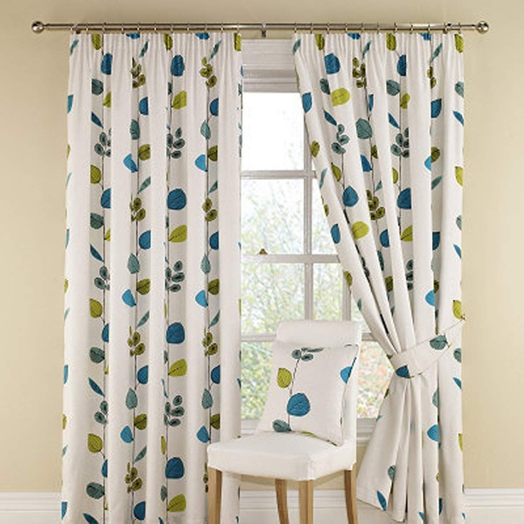Montgomery Aquamarine Icarus Curtains 228CmX228Cm | Curtains | Arnotts -would love to have these in my kitchen