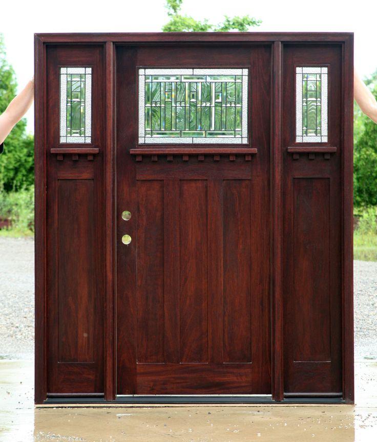 25 Best Ideas About Craftsman Front Doors On Pinterest