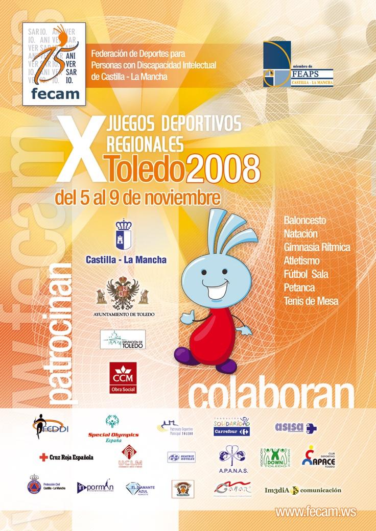 X Juegos Deportivos Regionales (2008) FECAM