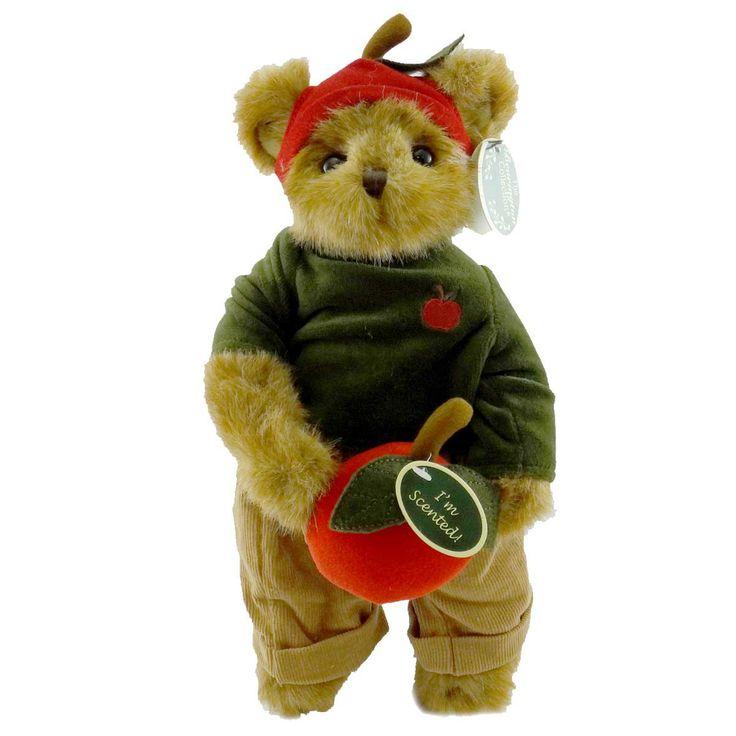 Bearington Adam Apple Teddy Bear