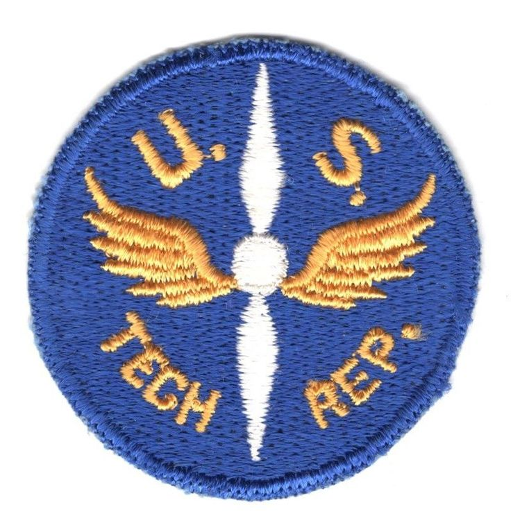 Army Air Force Patch: Technical Representative