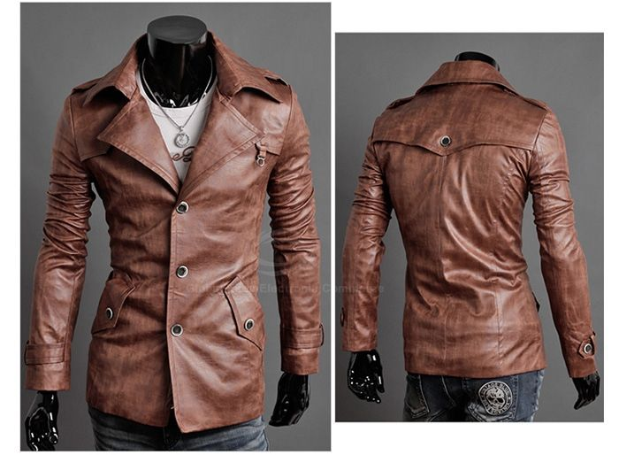 17 Best ideas about Leather Coats For Men on Pinterest | Mens ...