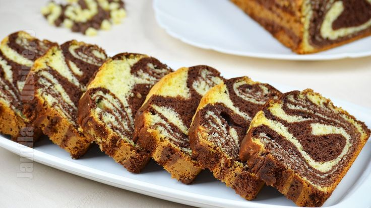 Chec pufos cu cacao - Chec marmorat - JamilaCuisine