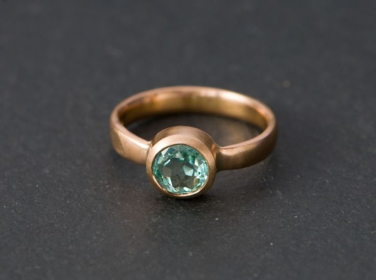 18K Gold Emerald Ring - Rose Gold Emerald Ring - Colombian Emerald Solitaire Ring - Green Gemstone Engagement Ring - Made to Order by williamwhite on Etsy https://www.etsy.com/listing/202521696/18k-gold-emerald-ring-rose-gold-emerald