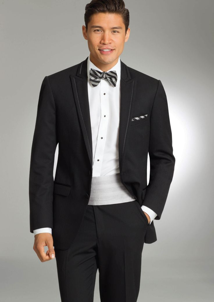 Onyx Ridgeland Two Button Peak by Allure-Men - Tuxedos