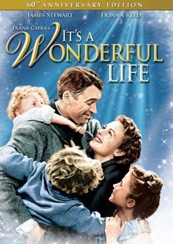 Its a Wonderful LifeChristmas Movies, Classic Movie, Favorite Christmas, Holiday Movie, Christmas Eve, Favorite Movie, James Stewart, Wonderful Life, Wonder Life