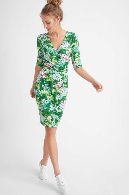 c2ef2de00c1b Zavinovacie šaty - Zelená