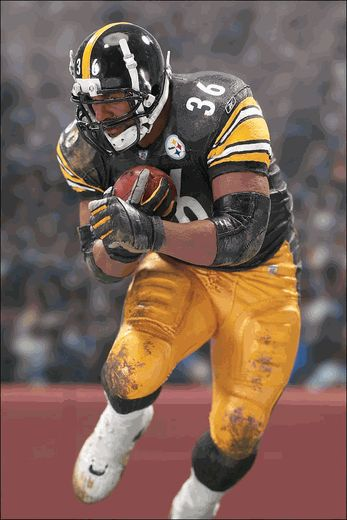 Jerome Bettis (Pittsburgh Steelers) NFL 5 McFarlane