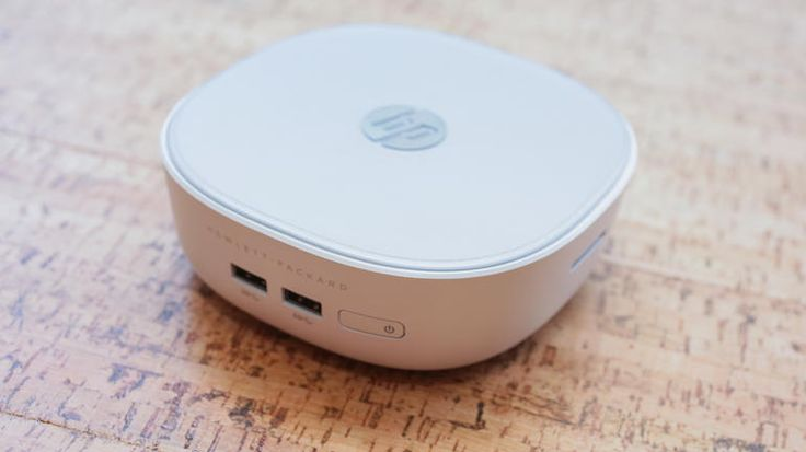 The HP Pavilion Mini costs less than other small desktops, offers options for the CPU and hard drive, and allows for user upgrades later on. A wireless keyboard and mouse are included.