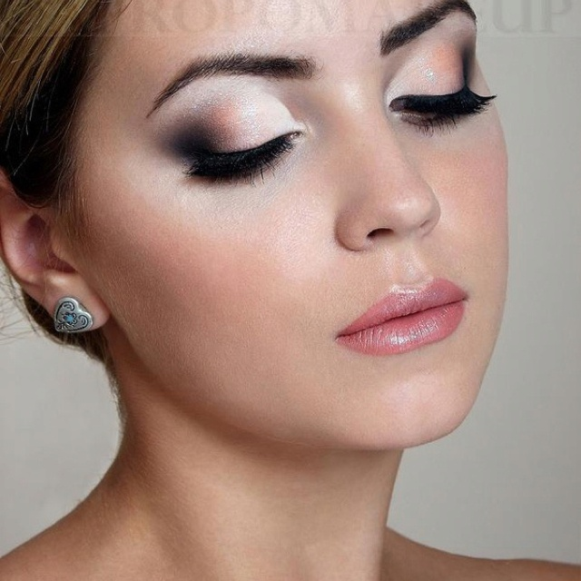 1000 Images About Evening Make Up On Pinterest Smoky Eye Pink Lips And Evening Makeup