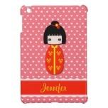 Personalized Kokeshi Doll, iPad Mini Glossy Finish Case  http://www.zazzle.com/personalized_kokeshi_doll_ipad_case_ipad_mini_case-256815582981375244