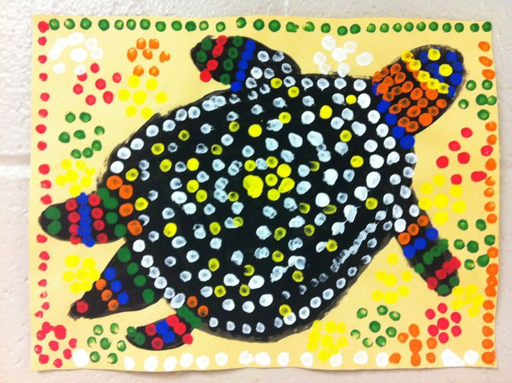 aboriginal dot art for kids templates - Google Search