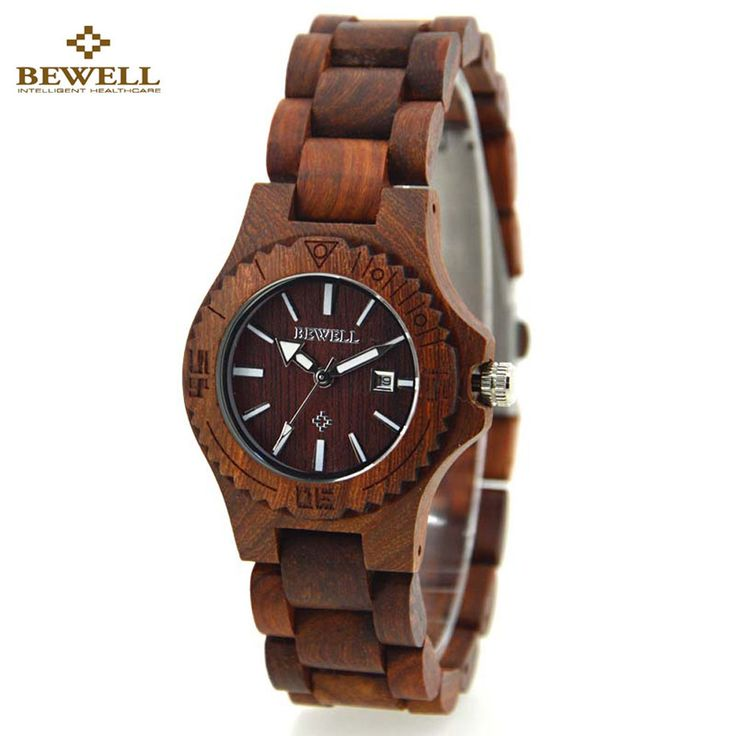 BEWELL Wooden Watch for Women Top Brand Luxury Lightweight Waterproof Wood Wrist Watch Ladies Quartz-watch Relogio Feminino //Price: $49.12 & FREE Shipping //     #hashtag1