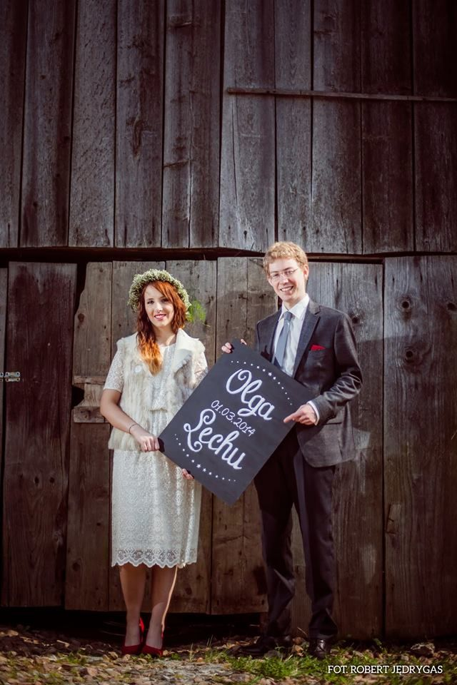 O&L wedding decoration by AKURATNIE kwiaty   www.akuratnie.com.pl  www.facebook.com/akuratnie.kwiaty  www.instagram.com/akuratnie.dw  fot. Robert Jędrygas