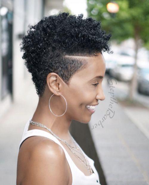 Short C Natural Hair