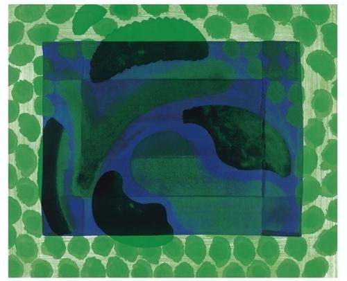 Howard Hodgkin (British, b. 1932), David's Pool, 1985. Etching, 642 x 782 mm.