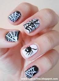 Znalezione obrazy dla zapytania paznokcie halloween