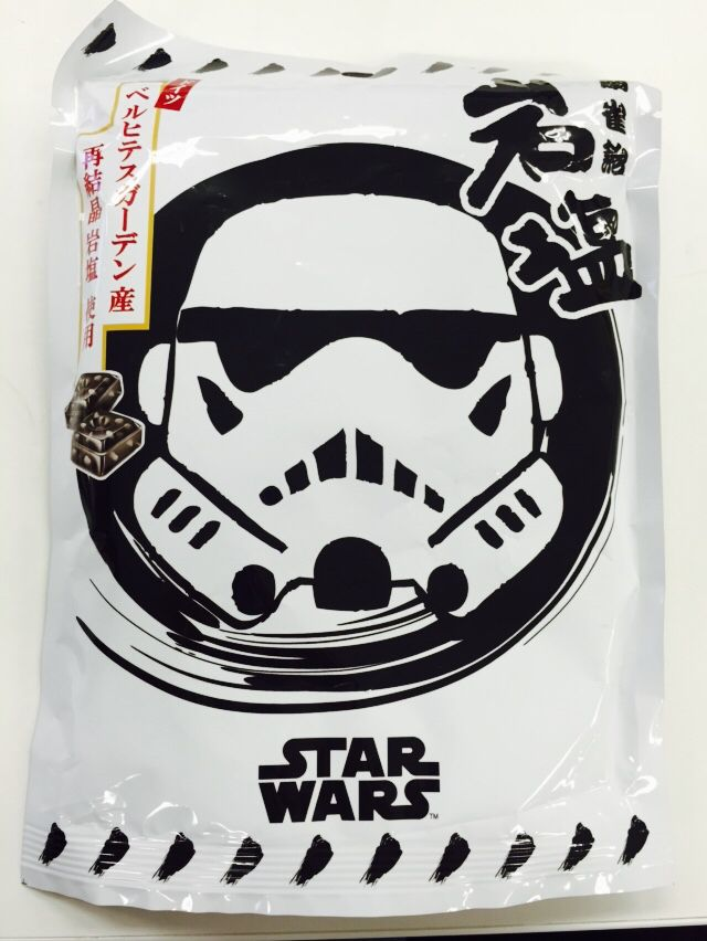 STAR WARS Rock Salt Candy(Senjaku Ame)