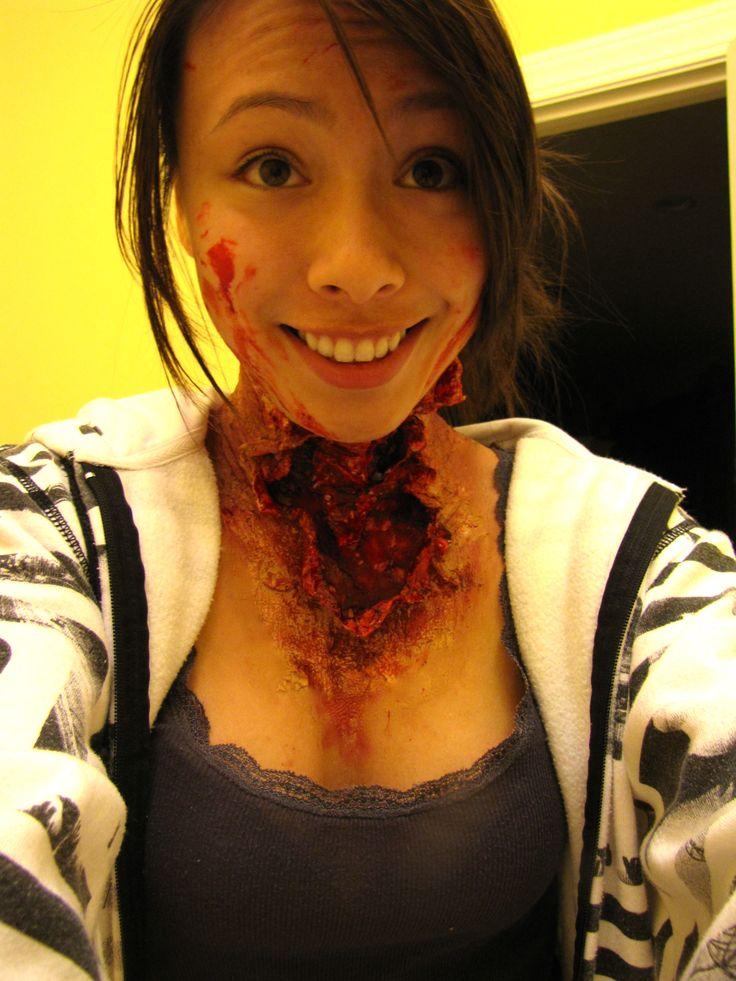 13 best open wound makeup images on Pinterest | Wound makeup, Fx ...