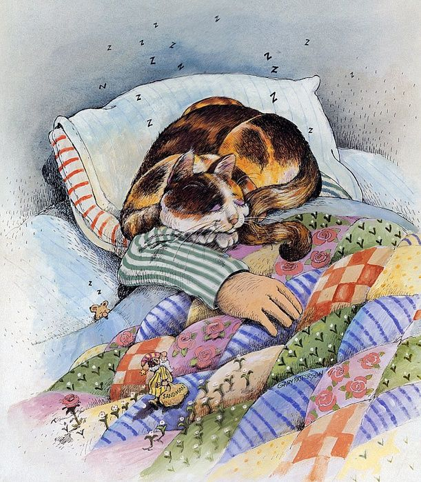 Cat artwork by Gary Patterson