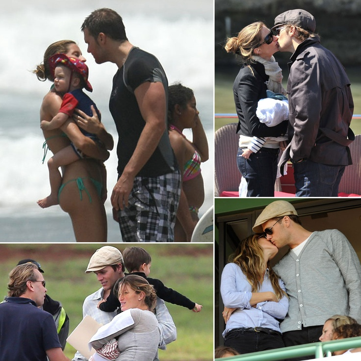 Pictures | Gisele and Tom's Sweetest Moments on Their Fourth Anniversary