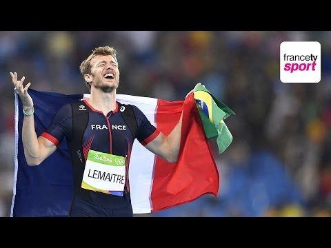JO 2016. Christophe Lemaitre  médaille de bronze du 200m