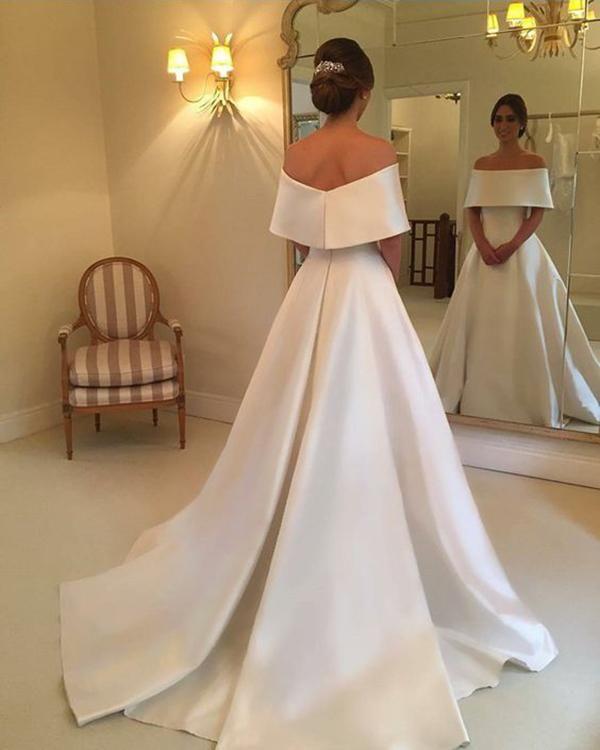 Item Type Wedding Dresses Back Design Zipper Silhouette A Line