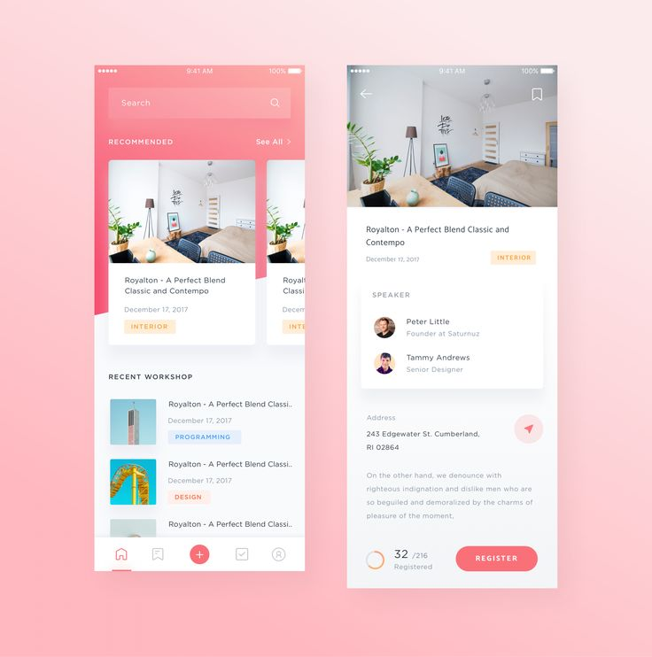 25+ Best Ideas About Mobile Ui Design On Pinterest