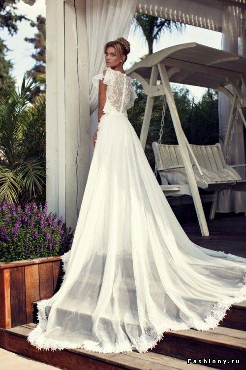 Коллекция свадебных платьев Nurit Hen Bridal 2014 / фото свадебных платьев на фэшиони ру