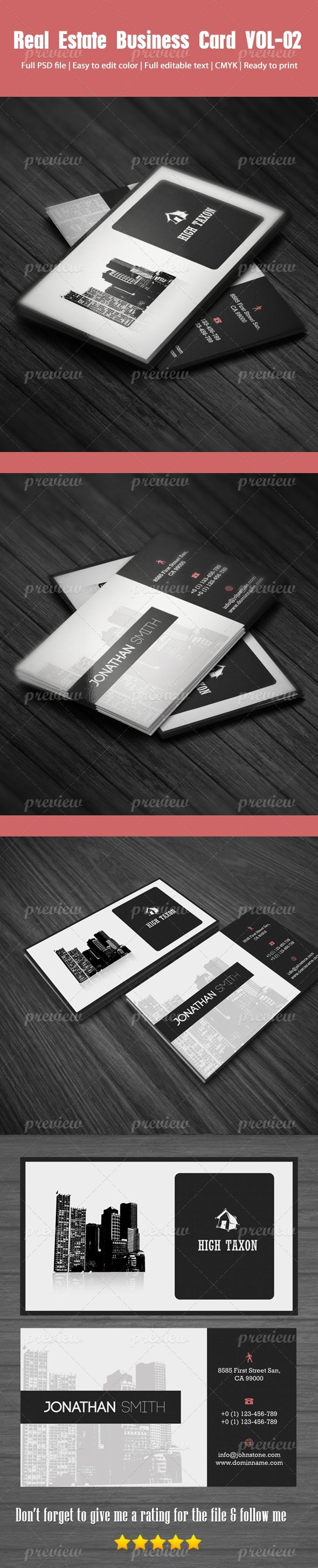 128 best real estate business cards images on pinterest business real estate business card reheart Images