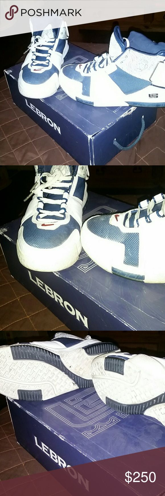Lebron 2's Lebron 2's , yellowing but still a great shoe Nike Shoes Sneakers