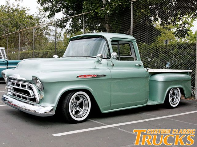 1957 chevy trucks for sale   carsonline com trucks cars for sale illinois 1957 chevy 3100 step side ...