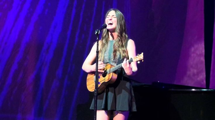 Sara Bareilles Little Black Dress Tour Chicago(8) Chandelier (Sia Cover) I saw this live and it was absolutely breathtaking. Give it a listen, promise u won't regret