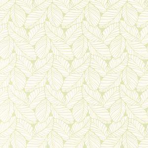 Palm Leaf Apple Green Tapet bladmönster