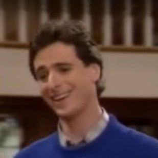 """Bob Saget as Danny Tanner in his first and last episodes… 
