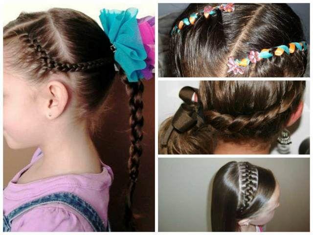 ideas originales de peinados preciosos para niñas fiestas de cumpleaños