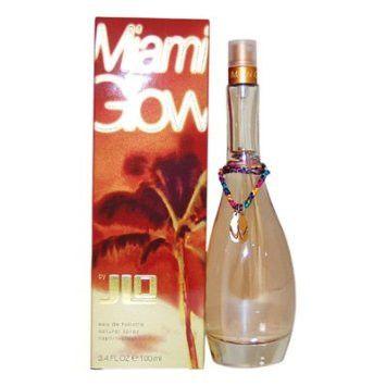 J LO MIAMI GLOW PERFUME FOR WOMEN 3.4 OZ EAU DE TOILETTE SPRAY