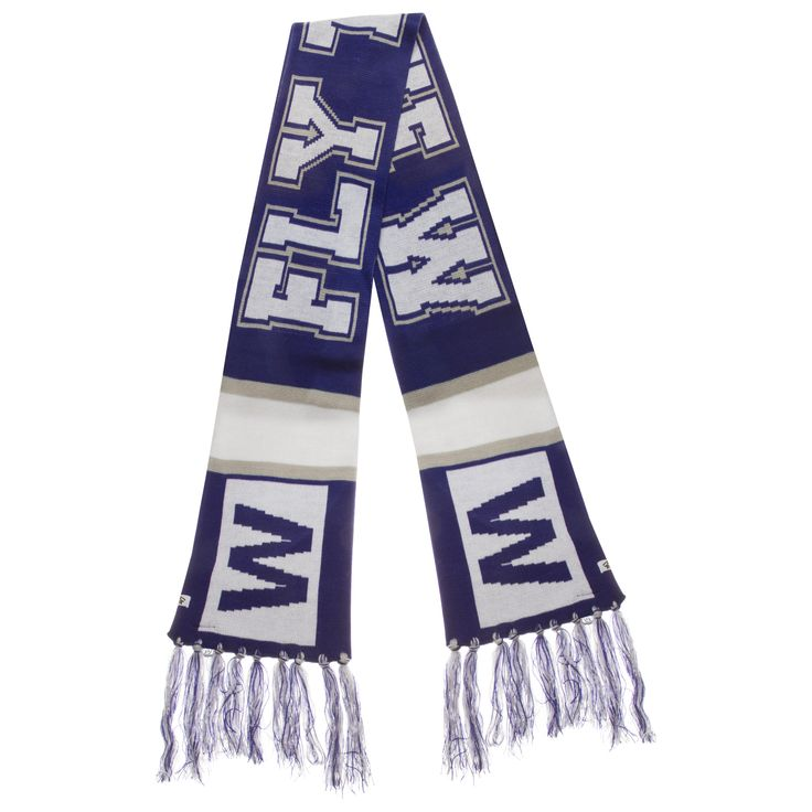Chicago Cubs Royal, White, and Grey W Flag Breakaway Scarf by '47 #Chicago #Cubs #ChicagoCubs