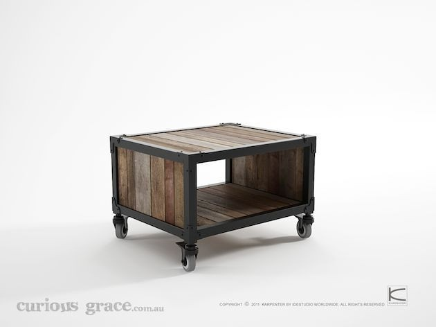 Curious Grace Workshop Side Table